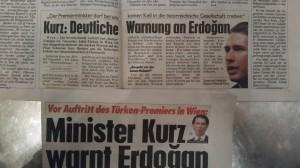 Kurz Erdogan